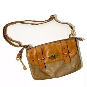 Fossil Flap Crossbody Messenger Bag